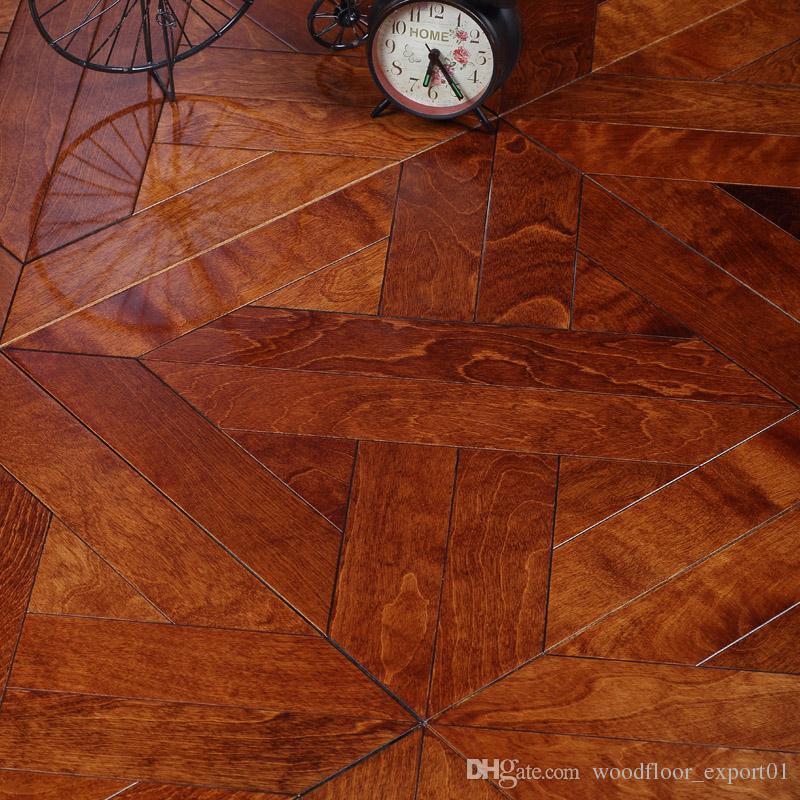 Maple Cover Holzbearbeitung Zimmer Aufkleber Haus Deck Laminat Laminat Laminat Teppich Werkzeuge Schlafzimmer Set Haushalt Homedecoration Home Dec