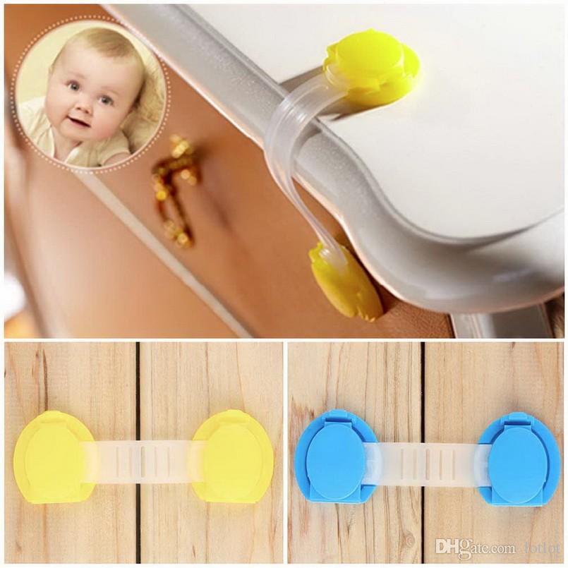 Yürüyor Bebek Güvenlik Kilidi Çocuk Çekmece Dolap Dolabı Dolabı Kapı Kilidi Plastik Dolap Kilitleri Bebek Güvenlik Kilidi
