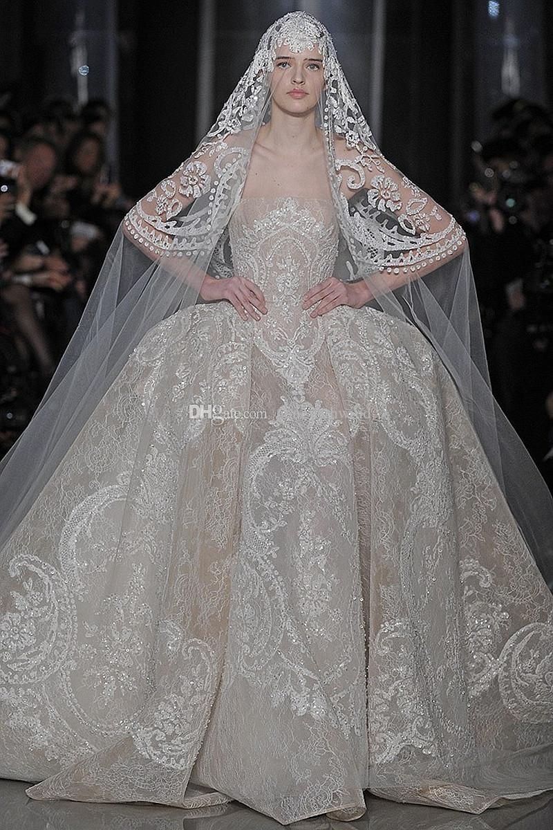Luxury dubai bridal sequin lace wedding dresses 2017 elie saab luxury dubai bridal sequin lace wedding dresses 2017 elie saab dresses ball gown strapless chapel train ball gown wedding dresses camo wedding dresses from junglespirit Gallery