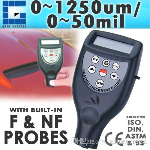 CM-8825FN Digital Coating Thickness Gauge Meter With Built-in F and FN Probe Paint Iron 0-1250um / 0-50mil Range