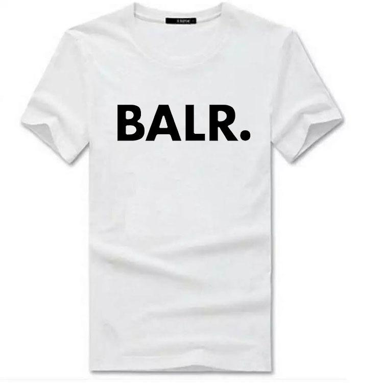 7eadb25fc 2017 Europe And the United States Tide Brand BALR. T-shirt the ...