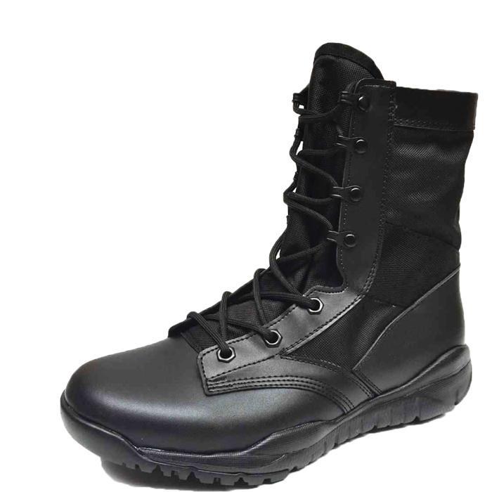12180f9f8c6561 Men Ankle Work Boots Combat Shoes Super Light Tactics Boots Desert ...