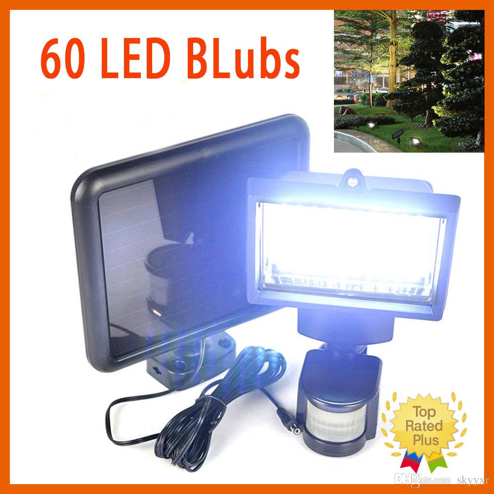 Outdoor 60 Smd Led Solar Powered Motion Sensor Security