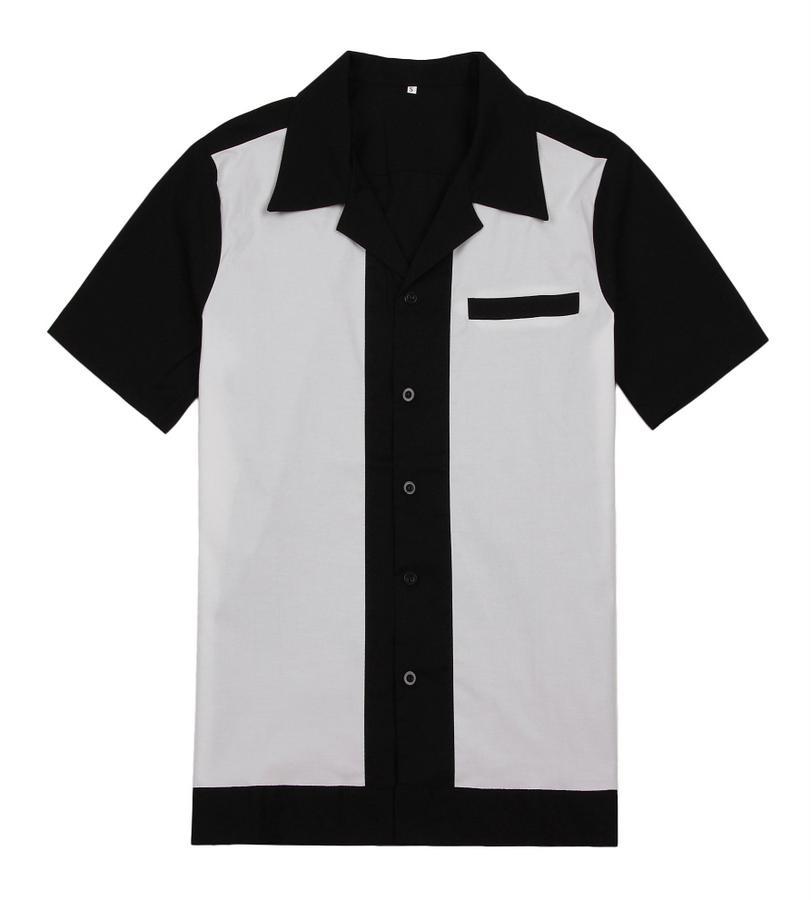 47d9b671fc85 Großhandel Großhandel Großhandel Kleidung Partei Kleidung Mann Shirt  Vintage Design Rockabilly Shirt Große Größe UK Casual Shirts Für Männer Von  Volontiers, ...