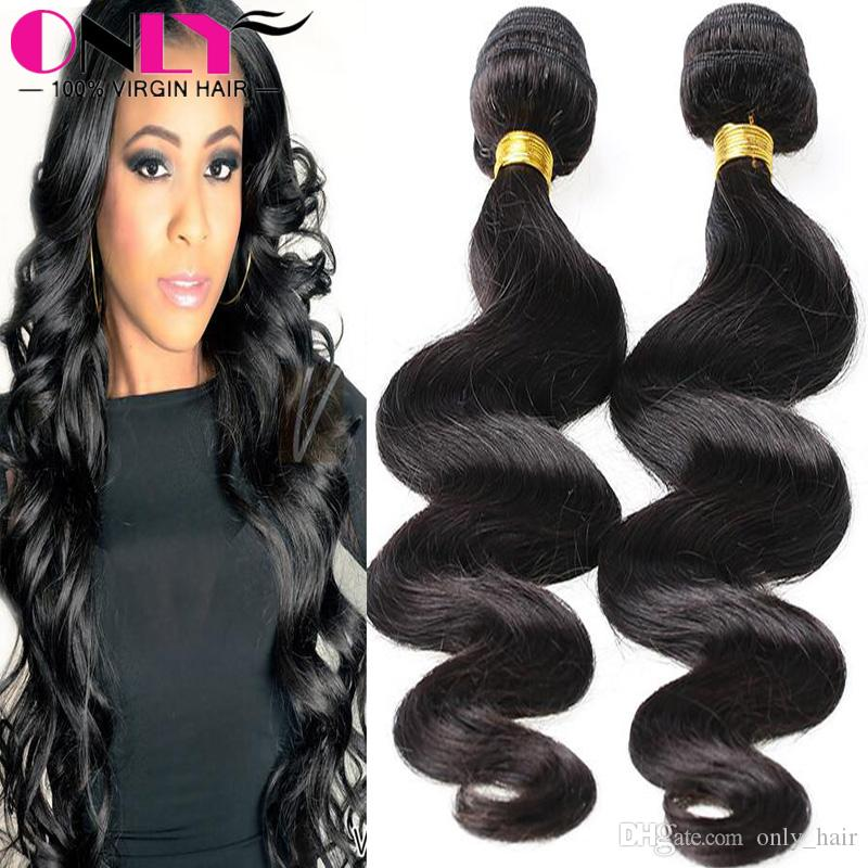 Top Quality Hair Extensions Bodywave Malaysian Virgin 3bundles Only