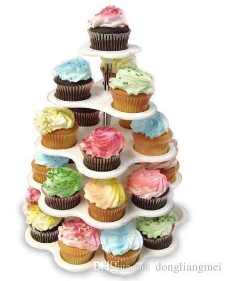 Grosshandel Neue Backzeit Heisser Verkauf Neuer 5 Tier Cupcake Stand Birthday Cake Stands Mit Farbfeld 62 Von Dongliangmei 2011 Auf DeDhgate