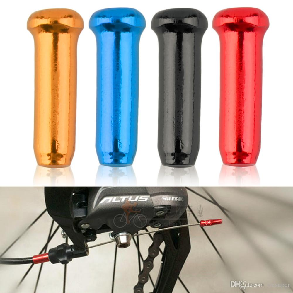 cs 라인 엔드 캡 라인 파이프 캡 전송 라인 브레이크 자전거 자전거 브레이크 시프터 변속기 내부 케이블 와이어 엔드 캡 크림프