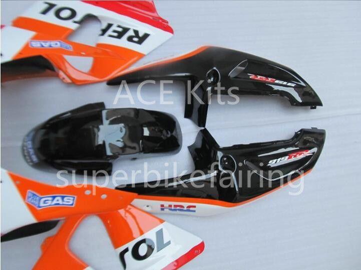 3 free gifts Motorcycle Fairing kit For HONDA CBR900RR 98 99 CBR 900RR 919 1998 1999 ABS Fairings set Red Black White Orange AS7