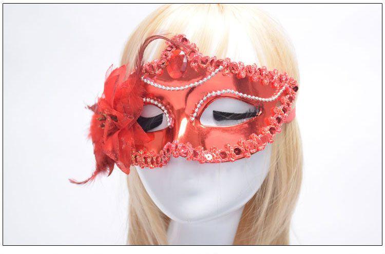 Buono A ++ La nuova maschera principessa di ballo con una delle fiancate appuntita della parte dell'ordine della miscela maschera PH028 come le vostre esigenze