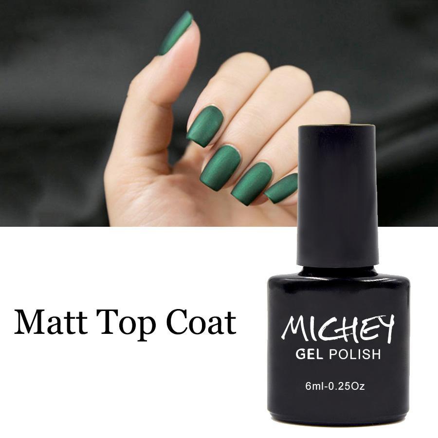 Wholesale- Matt Top Coat UV Gel Polish Matte Top Gel Hot Sale Soak Off LED  Lamp Curing Nail Gel Cover Color Nail Polish Gel Tip Nail Designs Polish ...
