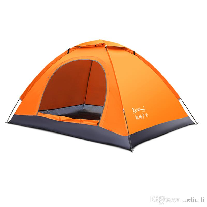 Ultralight Camping Tent for 2 Person Single Layer Breathable Waterproof Beach Tent UV Protection 3 Season Portable Tent Tourist