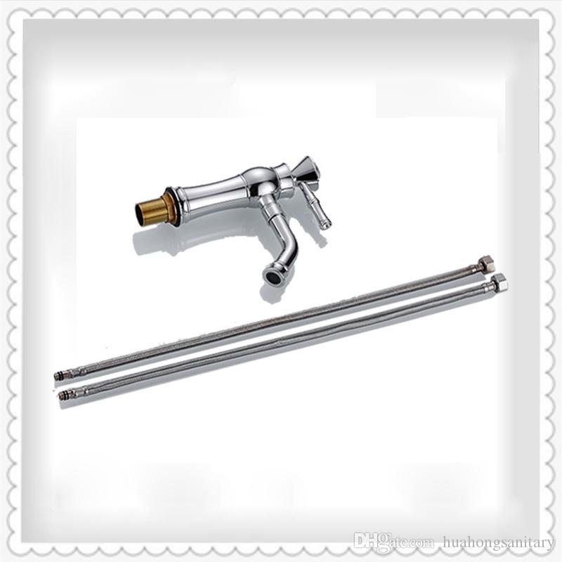 Ornamento di cristallo rubinetto del lavello della cucina con puro ottone cromato una maniglia un foro / scelta migliore quando la riparazione del rubinetto del lavello della cucina HS325
