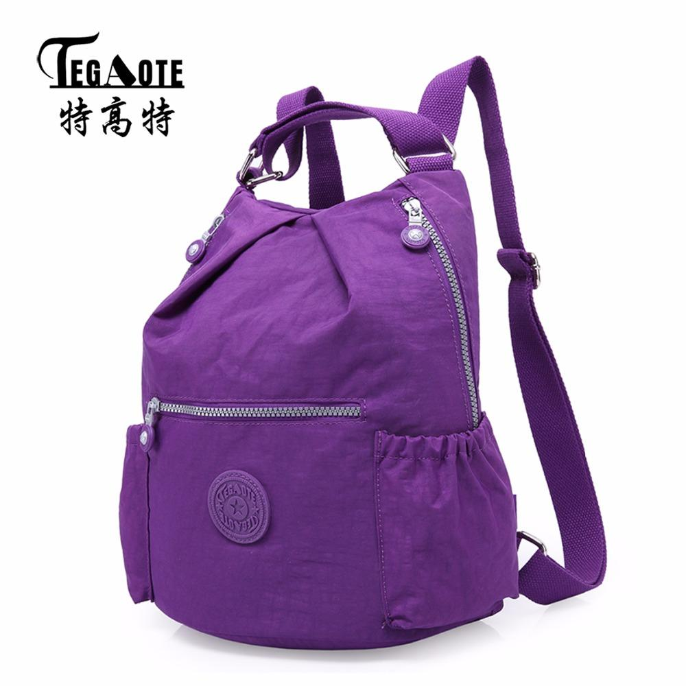 Tegaote New Small Backpack For Teenage Girl Backpacks Women ...