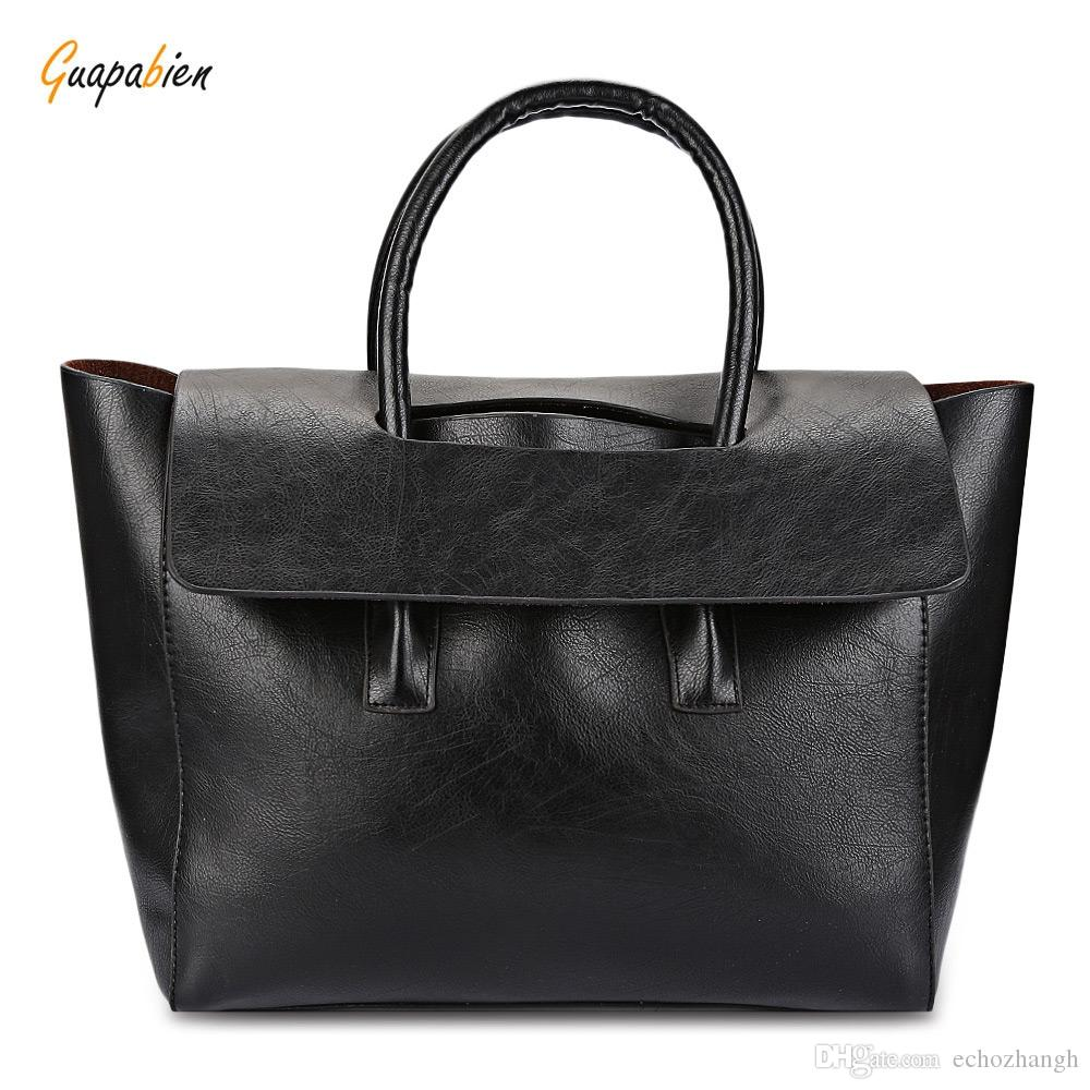 Guapabien Wing Pattern Solid Color Handbag Tote Shoulder Messenger ... 84b334c7a36b5