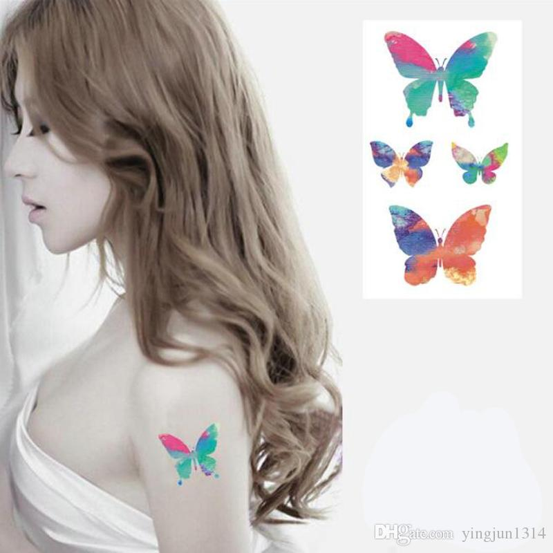 NEW Tattoo Tatoo für Mann Weman Waterproof Sticker Make-up Make-up Die Taube des Friedens Tattoo