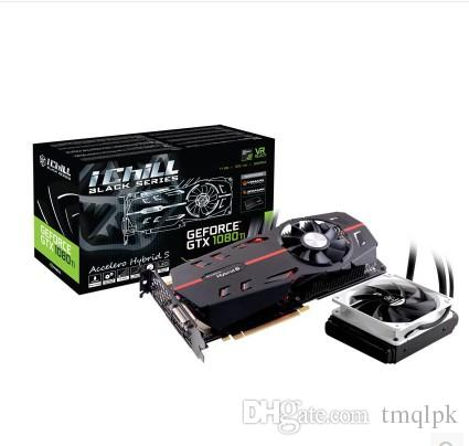 Inno3D Yingtou GTX1080ti ice dragon black gold version 11G water-cooled version of the VR independent game card