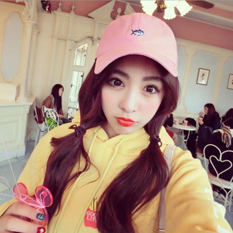 2018 Wholesale Hq Korean Girls Fashion Harajuku Baseball Cap 2017 ...