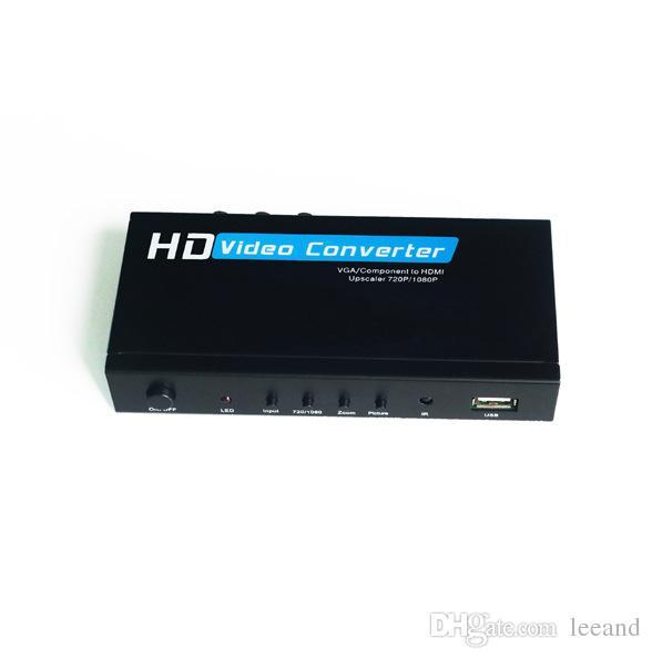 vga component ypbpr to hdmi upscaler hd video converter adapter rh dhgate com