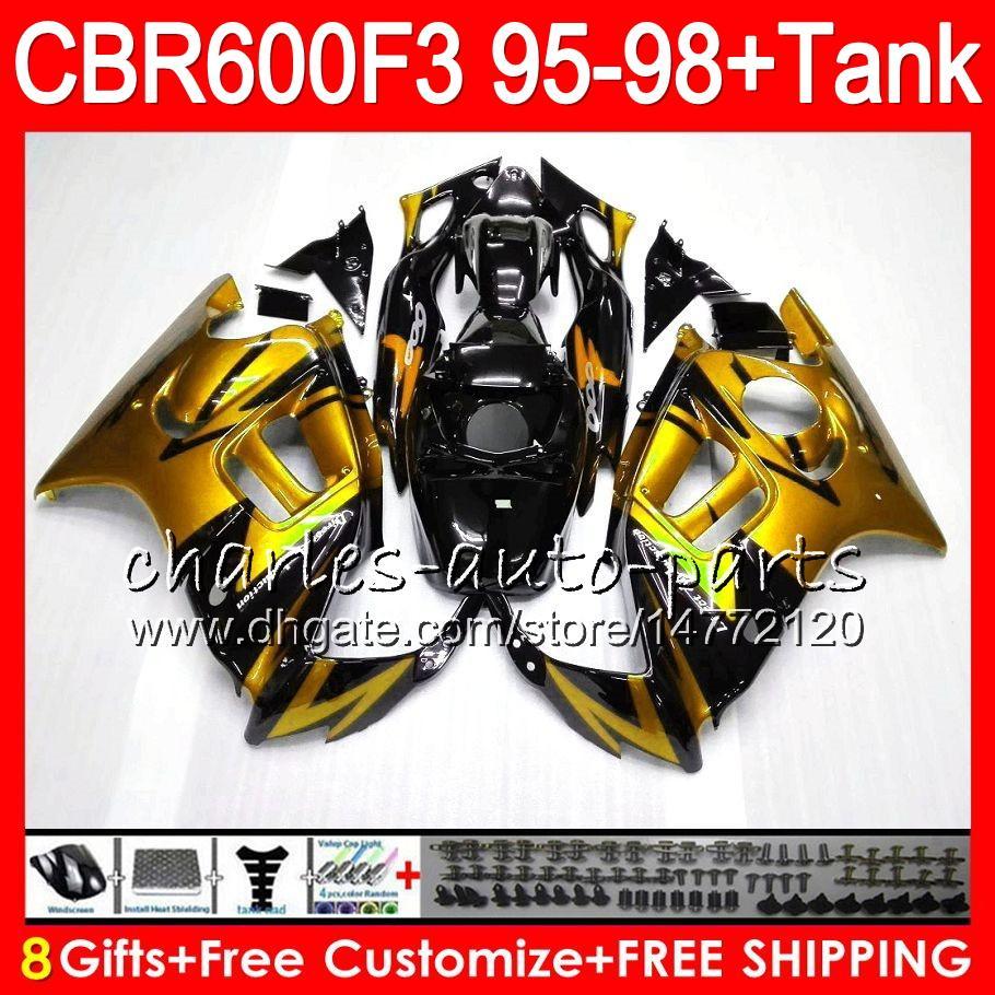 8 Regalos es para HONDA CBR600F3 95 96 97 98 CBR600RR FS 2HM35 CBR600 F3 600F3 CBR 600 F3 1995 1996 1997 1998 Carenado