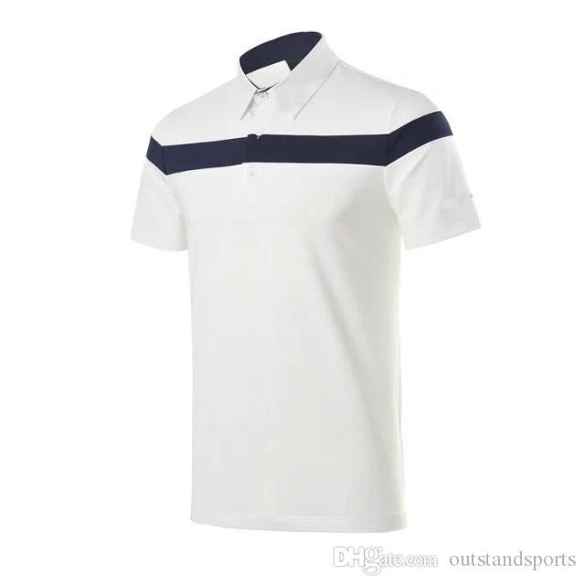 2017 Golf T-shirt hommes d'été sec fit respirant maillot de sport 3 couleurs OEM disponible