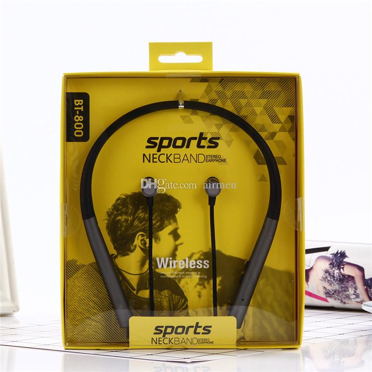Headphones Headsets Earbuds Running Sports Wireless Bluetooth Earphones BT 4.1 Stereo Bass In-Ear with Mic for apple Samsung DHL