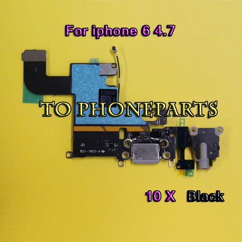 Pour iPhone 6 6s 4.7 Chargeur Charging Port Dock Connector avec Flex Cable Livraison Gratuite