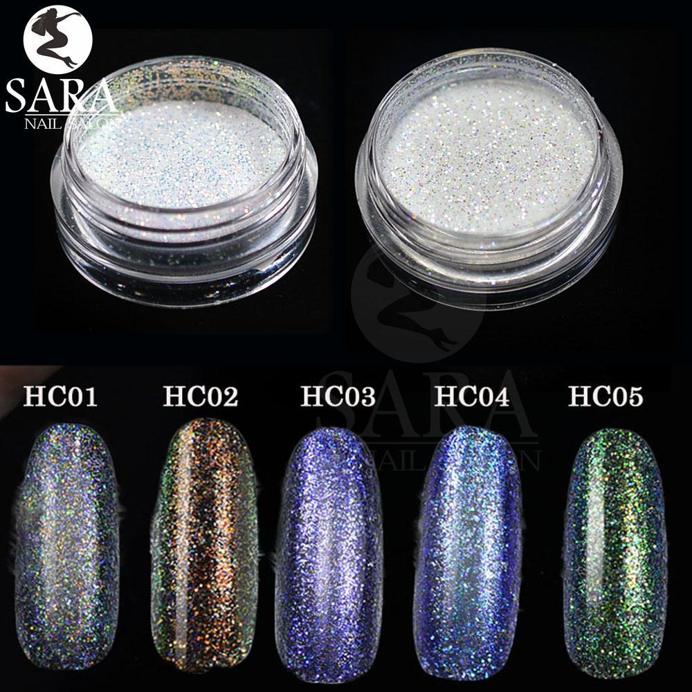 Wholesale Sara Nail Salon 3d New Nail Art Glitter Chrome , Powder ...