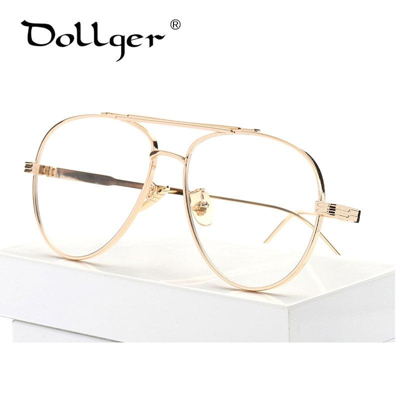 Großhandel Großhandels Dollger Gold Silber Pilot Brillenfassungen ...