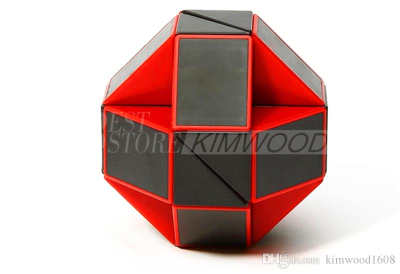 Atacado Mini 24 Peças Mágica Cobra Forma Toy Game 3D Enigma Cube Torção Puzzle Brinquedo de Presente de Inteligência Aleatória Brinquedos Educativos Enigma magia