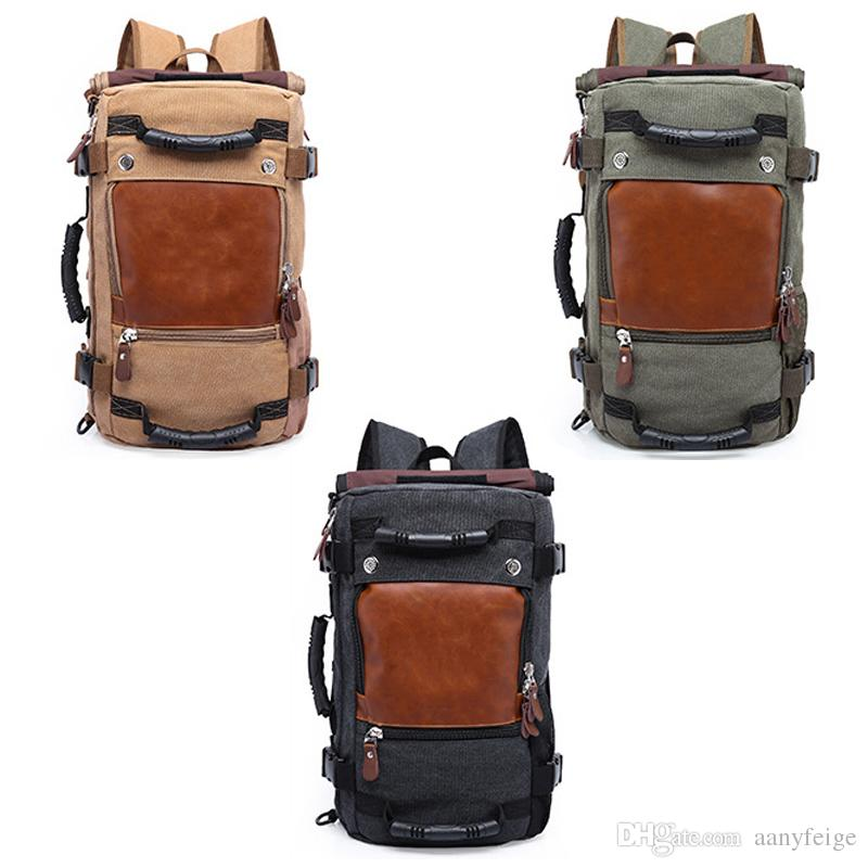 2019 Stylish Travel Large Capacity Outdoor Backpack Male Luggage Shoulder  Bag Computer Backpacking Men S Functional Versatile Bags From Aanyfeige 335bbd5255c75