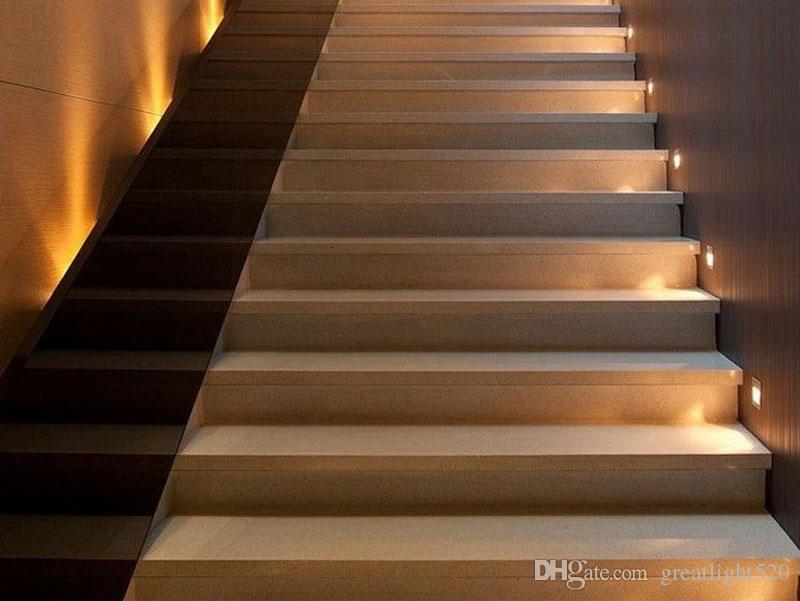 Acheter Détecteur De Mouvement PIR + Capteur De Lumière En Plomb Décoration  Décoration Escalier Led Infrarouge Corps Humain Étapes À Induction Lumière  ...