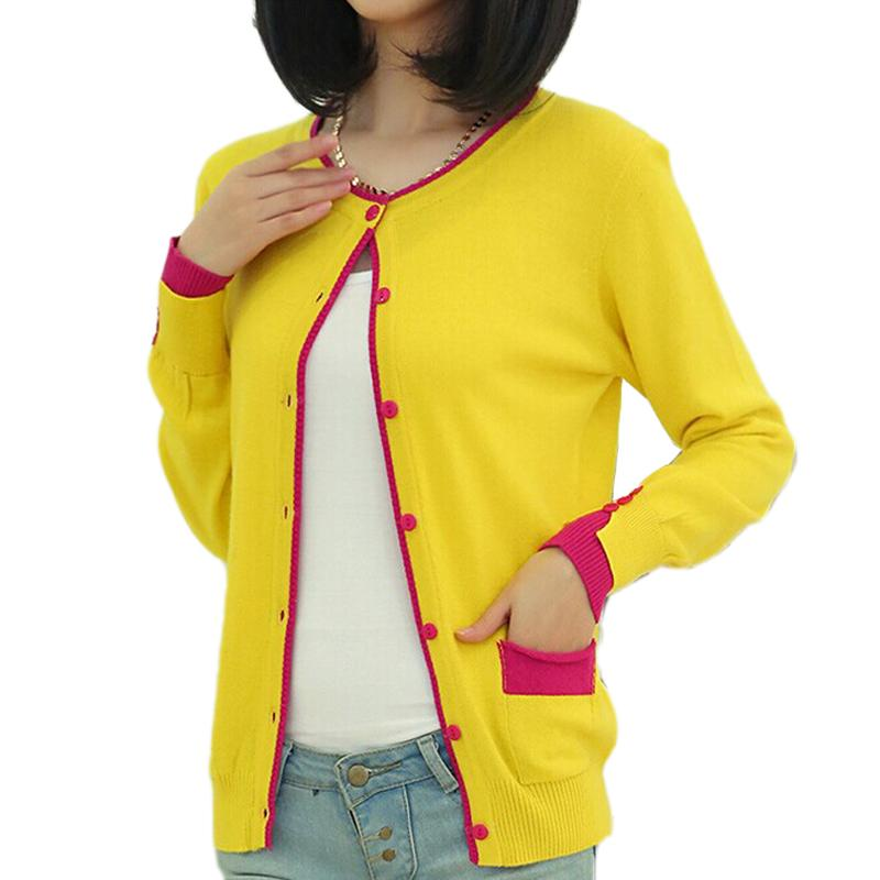 2018 Wholesale Autumn Winter Colorful Cardigan Women Sweater ...
