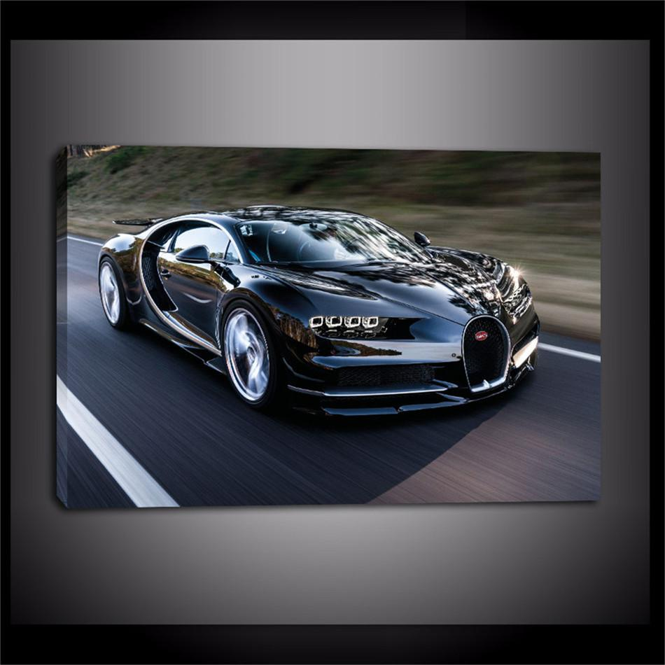 Bugatti Car,Home Decor HD Printed Modern Art Painting On Canvas  Unframed/Framed Bugatti Car Home Decor For Living Room Oil Painting,HD  Print Online With ...