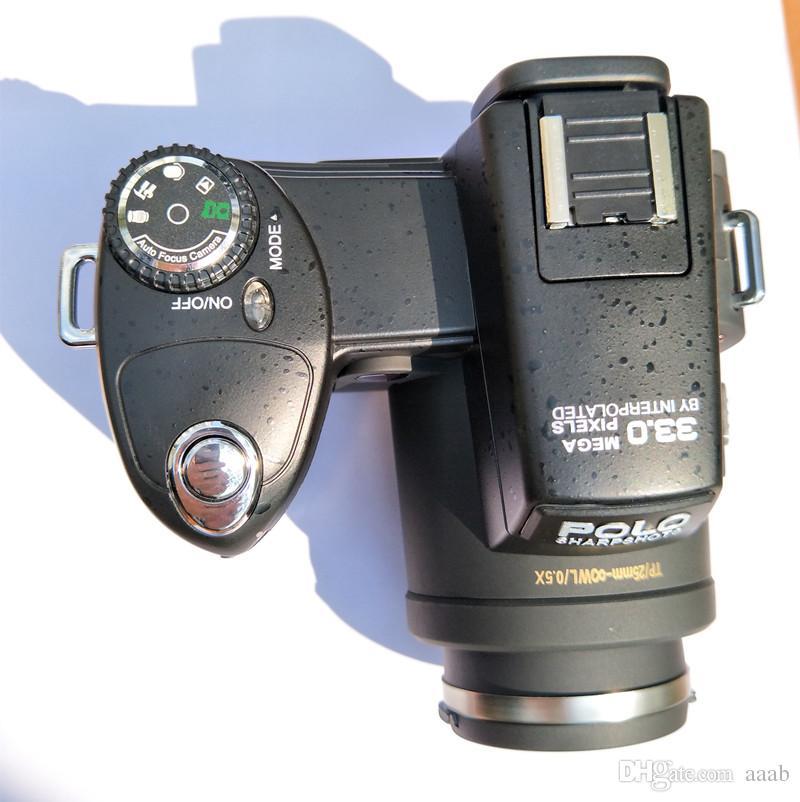 HD PUTAX POLO D7100 Cámara digital 33MP Resolución Auto Focus Professional SLR Video 24x Zoom óptico con tres lentes