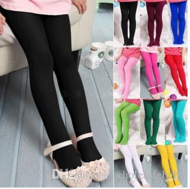 e88ff9372e9e9 Girls Kids Velvet Pants Stockings Girls Candy Colors Soft Pantyhose Lovely  Kawaii Children Skinny Tights Opaque Dance Tights Stocking J262 Socks  Hosiery ...