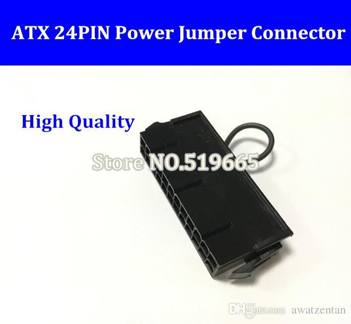 China Großhandel ATX Netzteil 24pin 24p 2 * 12pin Netzteil Jumper Starter Jack Adapter-Anschluss für Server BTC Miner Maschine