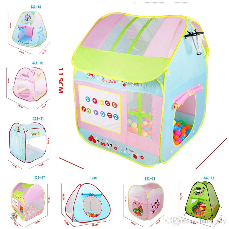 Kids Toy Tents Carton Beach House For Boys Girls Portable Home Outdoor C& Children Christmas Gift Cute Tent House For Kids Indoor Tents From Baby_sky ...  sc 1 st  DHgate.com : cheap childrens tents - memphite.com