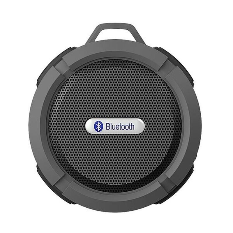 C6 outdoor sports dusche tragbare wasserdichte drahtlose bluetooth lautsprecher saugnapf freisprecheinrichtung mic stimme box für iphone 6 7 8 ipad pc telefon