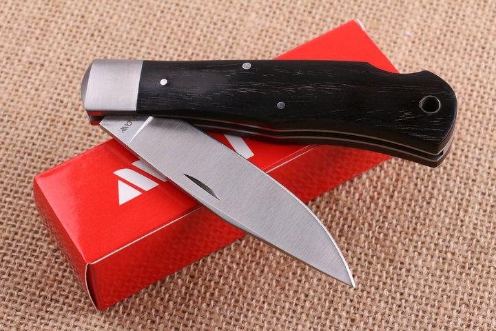 2017 New Kershaw 3180BW Folding Knife 8Cr13 58HRC Satin Finish Blade Wood Handle EDC Pocket Knives Lock Black With Original box