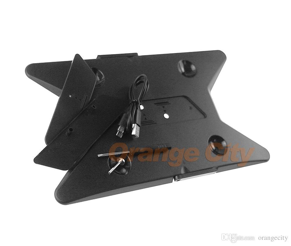 Robuster vertikaler Ständerhalter für PS4 Slim für PS4 Pro Console Controller Gamepad
