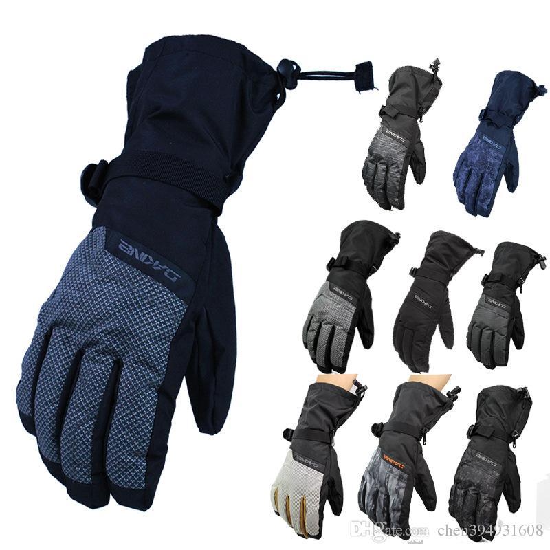 Dakine New Brand Men s Ski Gloves Male Snowboard Gloves Motorcycle Riding  Winter Gloves Windproof Waterproof Unisex Snow Gloves Men s Ski Gloves  Snowboard ... 9d32a1049