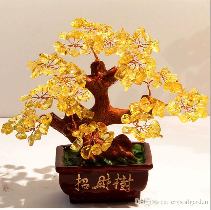 Lucky Wedding Gifts: 2019 Open Wedding Gifts Safe Natural Crystal Lucky Tree