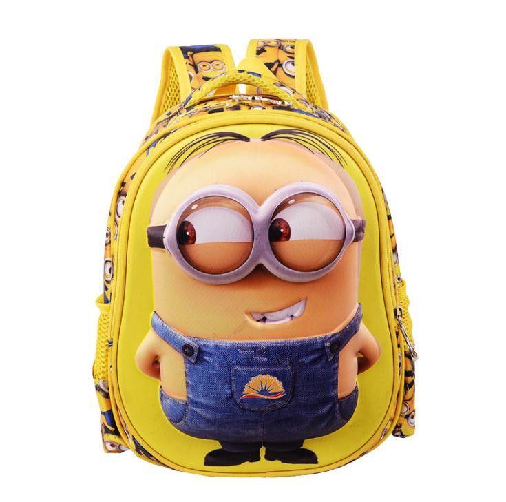 Нейлон, мешок школы ученика начальной школы мода мультфильм рюкзак 3 d печати новых детей рюкзак подходит для детей в возрасте до