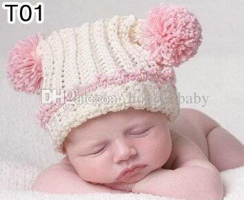 c4f2eaad07659 100% Handmade Crochet Knitted Cartoon Animal Hat Newborn Infant Toddler  Baby Kids Headwear Winter Children Beanie Customized Cap Mixed Order