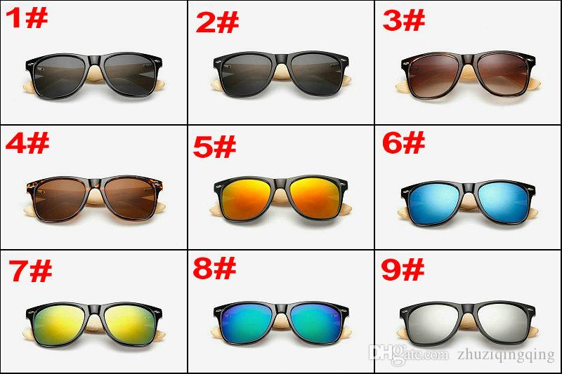 Bamboo Foot Fashion Sunshade Glasses Resin lenses Designer Sunglasses for Men Women Summer Sun Glasses Cheap