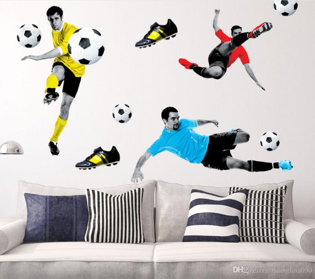 Awesome ... Football Wall Stickers For Bedrooms Home Design Ideas