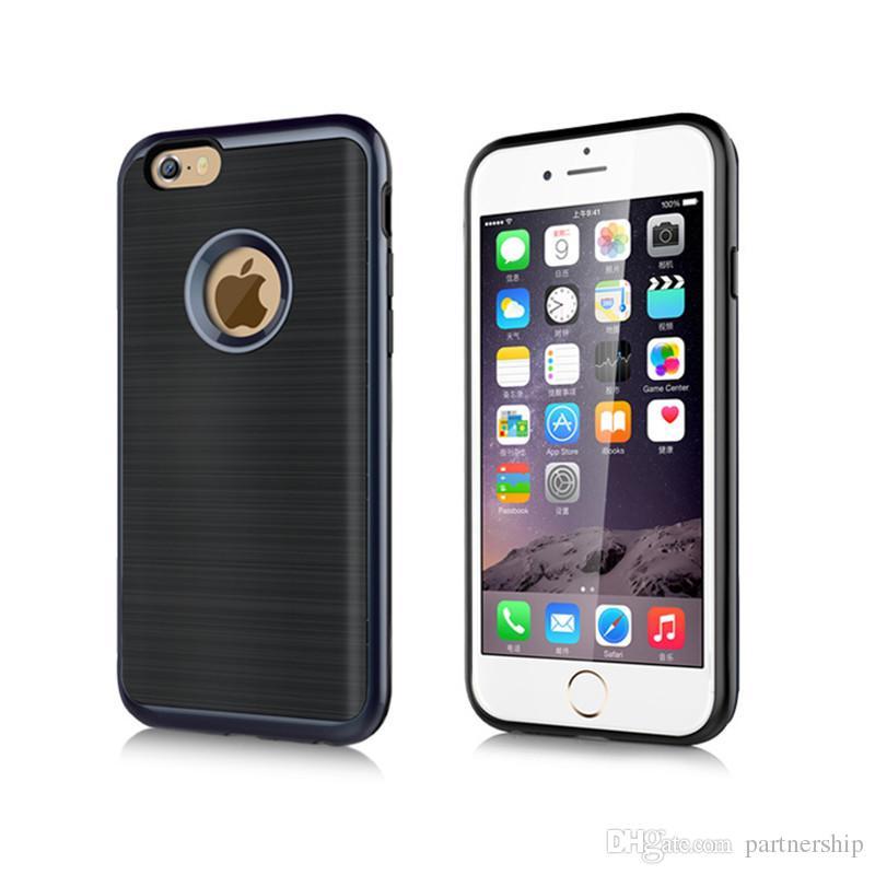 35a865aee3 Housse Pour Mobile Pour Apple IPhone 5 5s SE 6 6 S 7 7 Plus Téléphone Cas  De Luxe Antichoc Armor Back Cover Case Capa Coque Pour Samsung Galaxy S5  Bord S7 ...