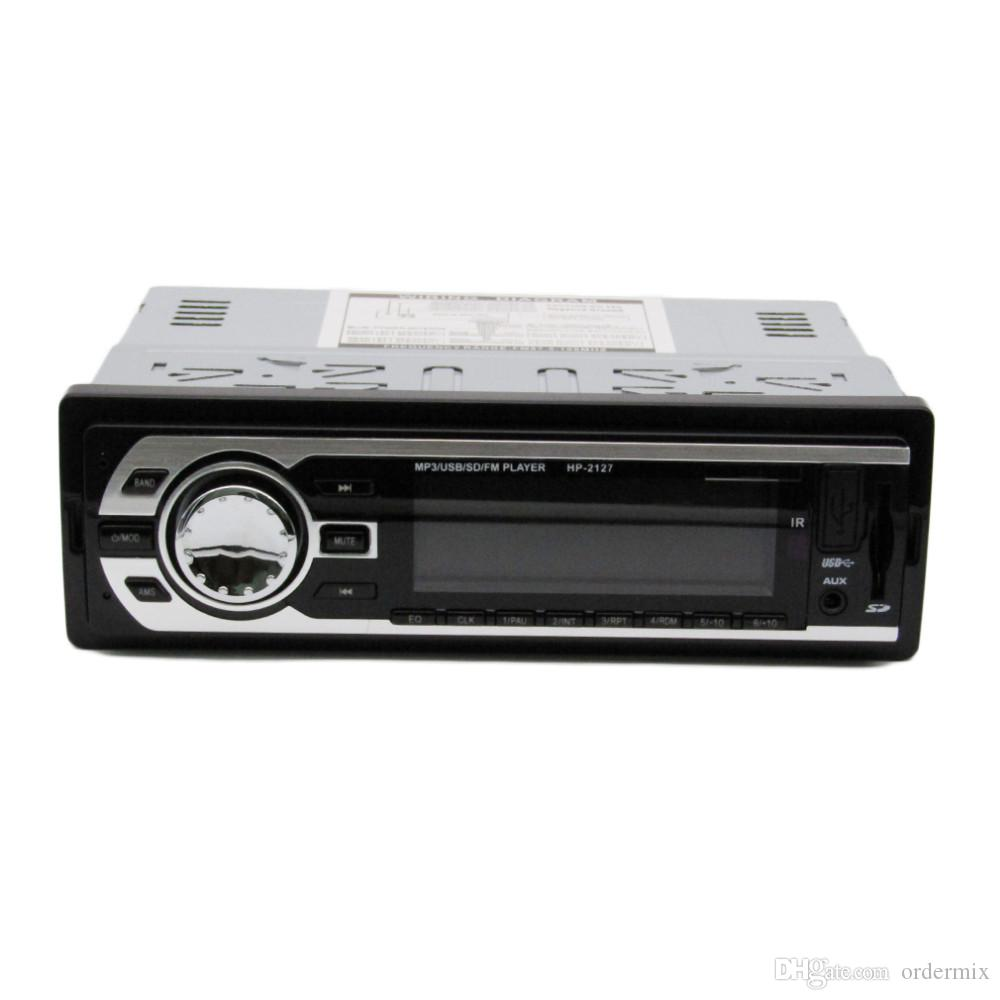 Autoradio MP3-Player / LCD-Display / 7388 IC / 12V / HP-2127 Echte Unterstützung USB / SD / MMC-Speicherkarte / FM / WMA / Fernbedienung