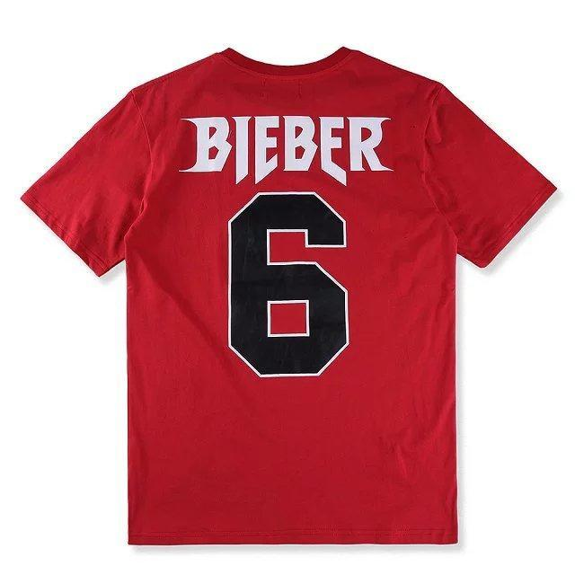 2017 New Purpose Justin Bieber T Shirt Men Fog Concert 6 Short ...