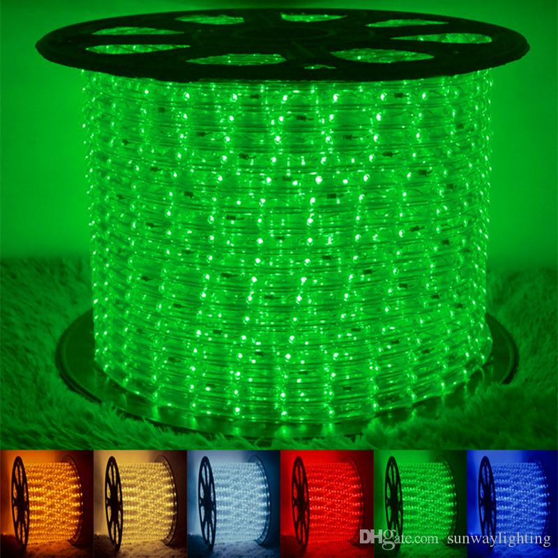 High bright led 2wire round rope light 100meters waterproof led high bright led 2wire round rope light 100meters waterproof led flexible rope light flex pvc disco bar pub christmas party led strip lights ip68 led strip aloadofball Gallery